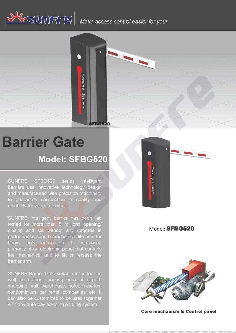 SFBG520 Barrier Gate